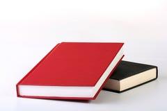 красный цвет книги закрытый Стоковая Фотография