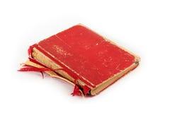 красный цвет книги старый Стоковое Изображение