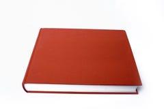 красный цвет книги Стоковое Фото