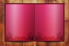 красный цвет книги Стоковые Изображения