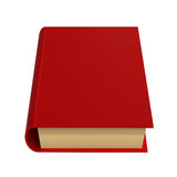 красный цвет книги иллюстрация штока