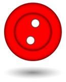 красный цвет кнопки стоковое фото