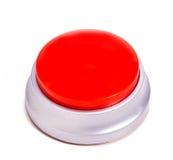 красный цвет кнопки Стоковое Изображение