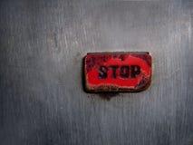 красный цвет кнопки Стоковая Фотография RF