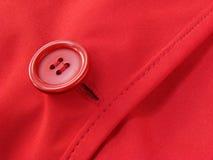 красный цвет кнопки Стоковые Фото
