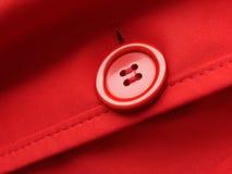 красный цвет кнопки Стоковое фото RF