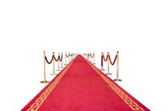 красный цвет ковра Стоковое фото RF