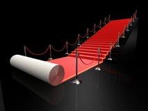 красный цвет ковра иллюстрация вектора