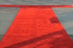 красный цвет ковра Стоковая Фотография