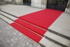 красный цвет ковра Стоковые Фотографии RF