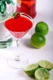 красный цвет коктеила Стоковое Изображение RF
