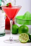 красный цвет коктеила Стоковое Фото