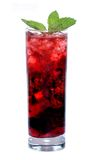 красный цвет коктеила Стоковые Изображения
