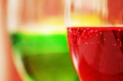 красный цвет коктеилов зеленый Стоковое Фото