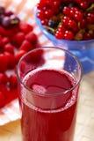 красный цвет компота Стоковые Фото
