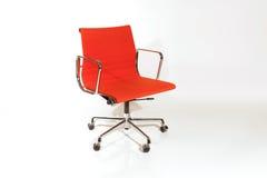красный цвет конструкции стула стоковое фото