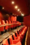 красный цвет концертного зала Стоковые Изображения RF