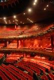 красный цвет концертного зала Стоковое фото RF