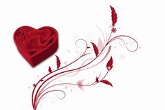 красный цвет коробки Стоковая Фотография