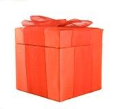 красный цвет коробки Стоковое Фото
