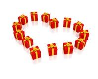 красный цвет коробок 14 Стоковое Изображение RF