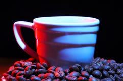 красный цвет кофе горячий Стоковое фото RF