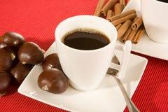 красный цвет кофе Стоковое Изображение