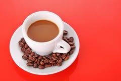 красный цвет кофе Стоковые Изображения RF