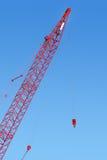 красный цвет крана Стоковое фото RF
