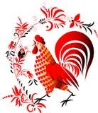 красный цвет крана Стоковое Фото