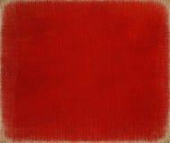 красный цвет краски рождества холстины Стоковое Фото