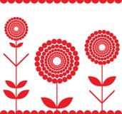 красный цвет края Стоковая Фотография
