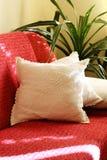 красный цвет кресла Стоковые Фотографии RF