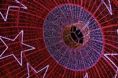 Света Кристмас Стоковые Фото