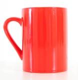 красный цвет кружки кофе Стоковая Фотография RF