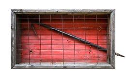 красный цвет крюка пожара коробки Стоковое Фото