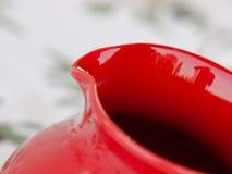 красный цвет кувшина Стоковые Фото