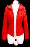 красный цвет куртки стоковые фото