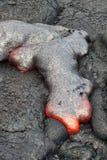 красный цвет лавы подачи горячий Стоковое фото RF