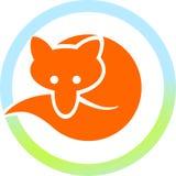 красный цвет лисицы круга бесплатная иллюстрация
