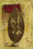 красный цвет листьев иллюстрация вектора
