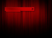 красный цвет логоса предпосылки Стоковое Фото