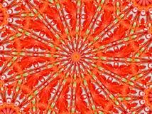 красный цвет мандала Стоковые Фотографии RF