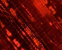 красный цвет матрицы Стоковое Изображение RF