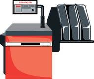 красный цвет машины балансера бесплатная иллюстрация