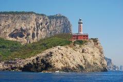 красный цвет маяка Стоковое Изображение RF