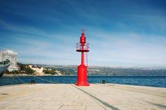 красный цвет маяка Стоковое фото RF