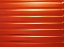 красный цвет металла Стоковое фото RF