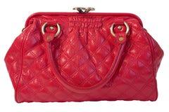 красный цвет мешка женский Стоковое Фото