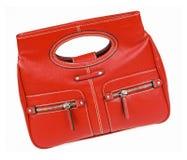 красный цвет мешка Стоковое Фото